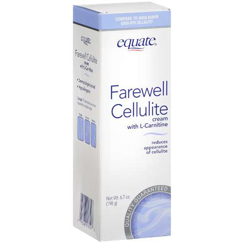 Equate Farewell Cellulite Cream, 6.7 oz
