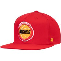 Houston Rockets Mitchell & Ness Hardwood Classics Fitted Hat - Red