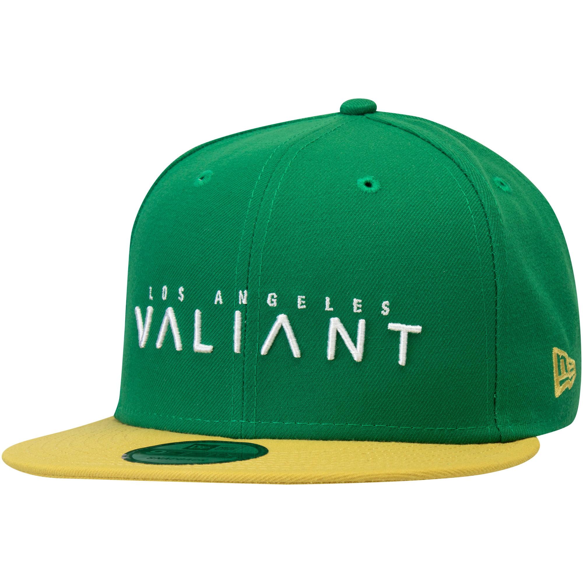 Los Angeles Valiant Overwatch League New Era Two-Tone Team Snapback Adjustable Hat - Green - OSFA