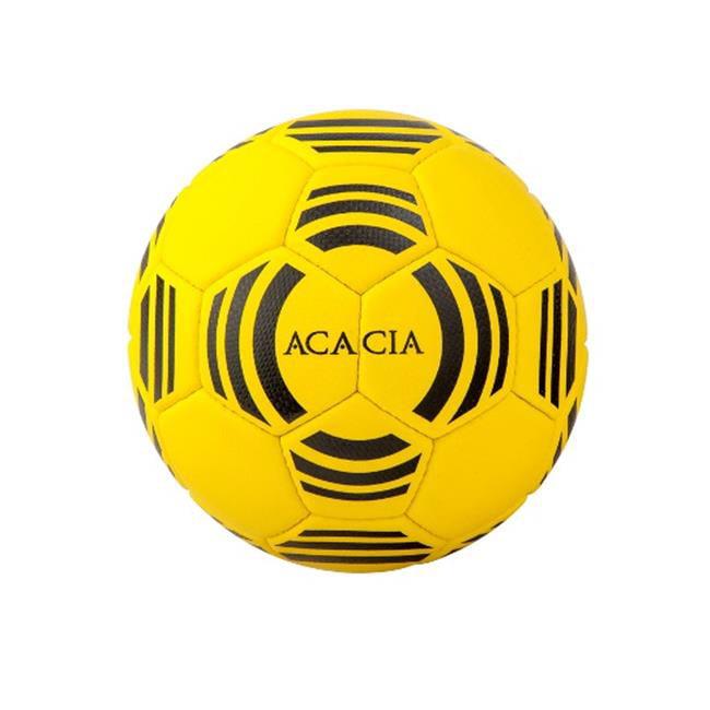 Acacia 24-305 Galaxy Soccer Ball - Yellow and Black, 5
