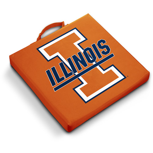 Logo Chair NCAA Illinois Stadium Cushion