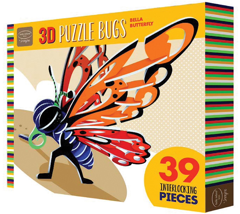 Ki 3D Puzzle Insects Butterfly Case Pack 12 by Bendon Publishing