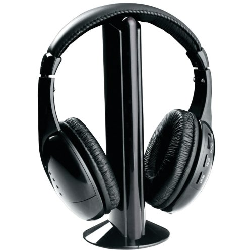 Naxa NAXNE922AB Naxa NE-922A 5 in 1 Wireless Headphone System