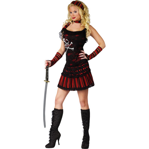 Skull Rocker Pirate Adult Halloween Costume
