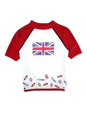Boys Set - I love London  UV Rash Vest + Swim Short