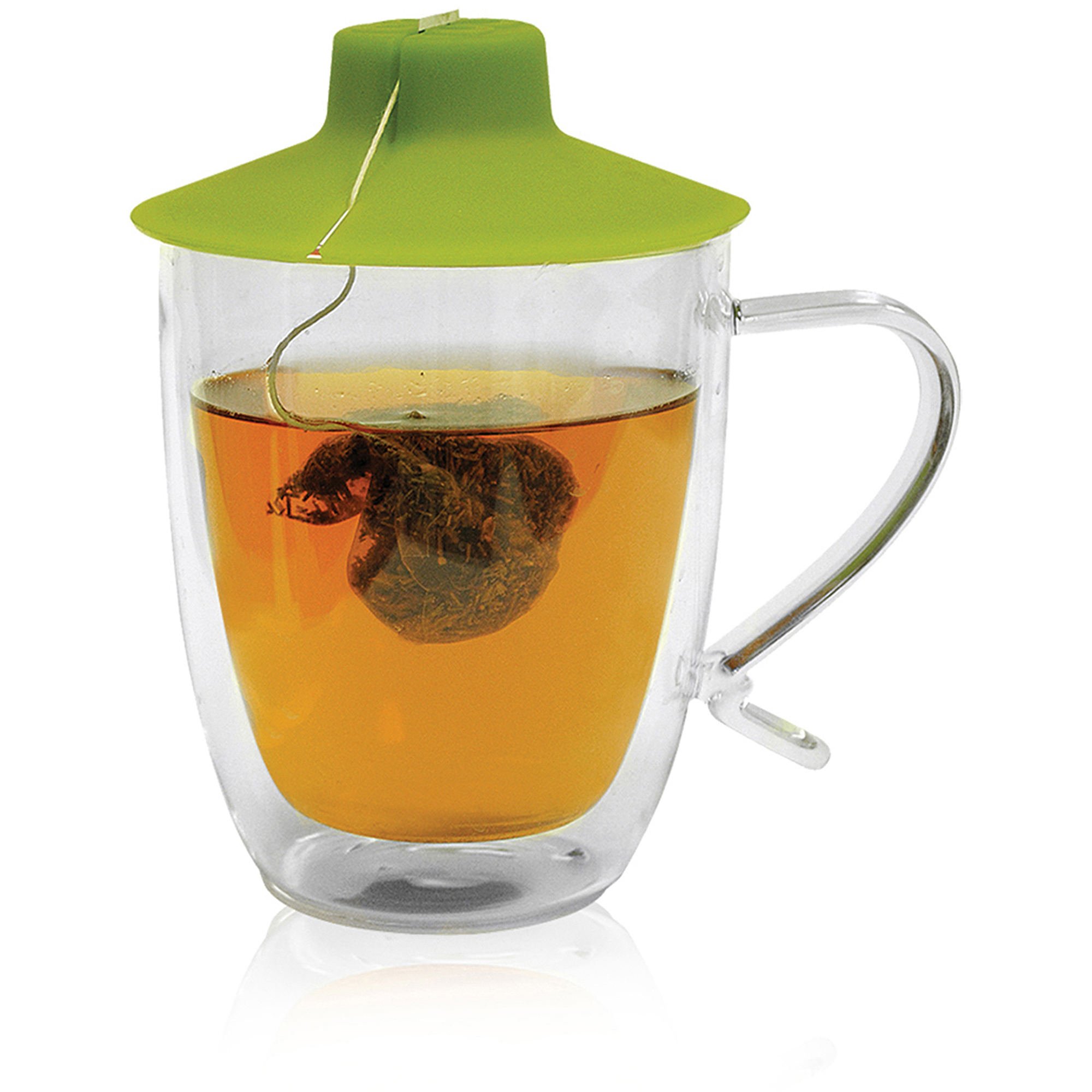 Primula Double Wall 16 oz Mug with Tea Bag Buddy