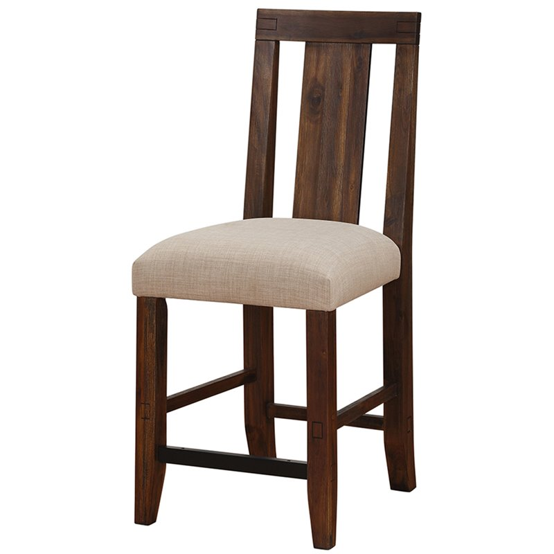 """Modus Meadow 24"""" Counter Stool in Brick Brown by"""