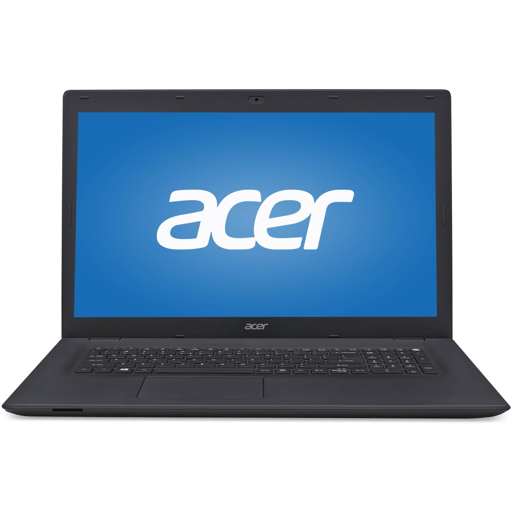 "Acer Black 17.3"" TravelMate P278 TMP278MG52D8 Laptop PC with Intel Core i5-6200U Processor, 8GB Memory, 1TB Hard Drive and Windows 10 Pro"