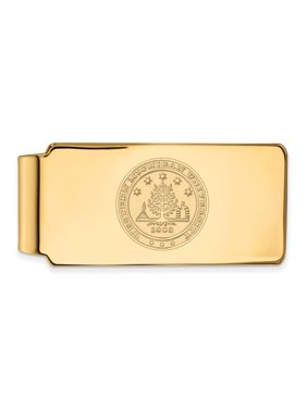 Western Michigan Money Clip Crest (10k Yellow Gold)