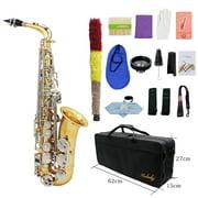 Best Alto Saxophones - Muslady Eb Alto Saxophone Brass E-Flat Musical Instruments Review