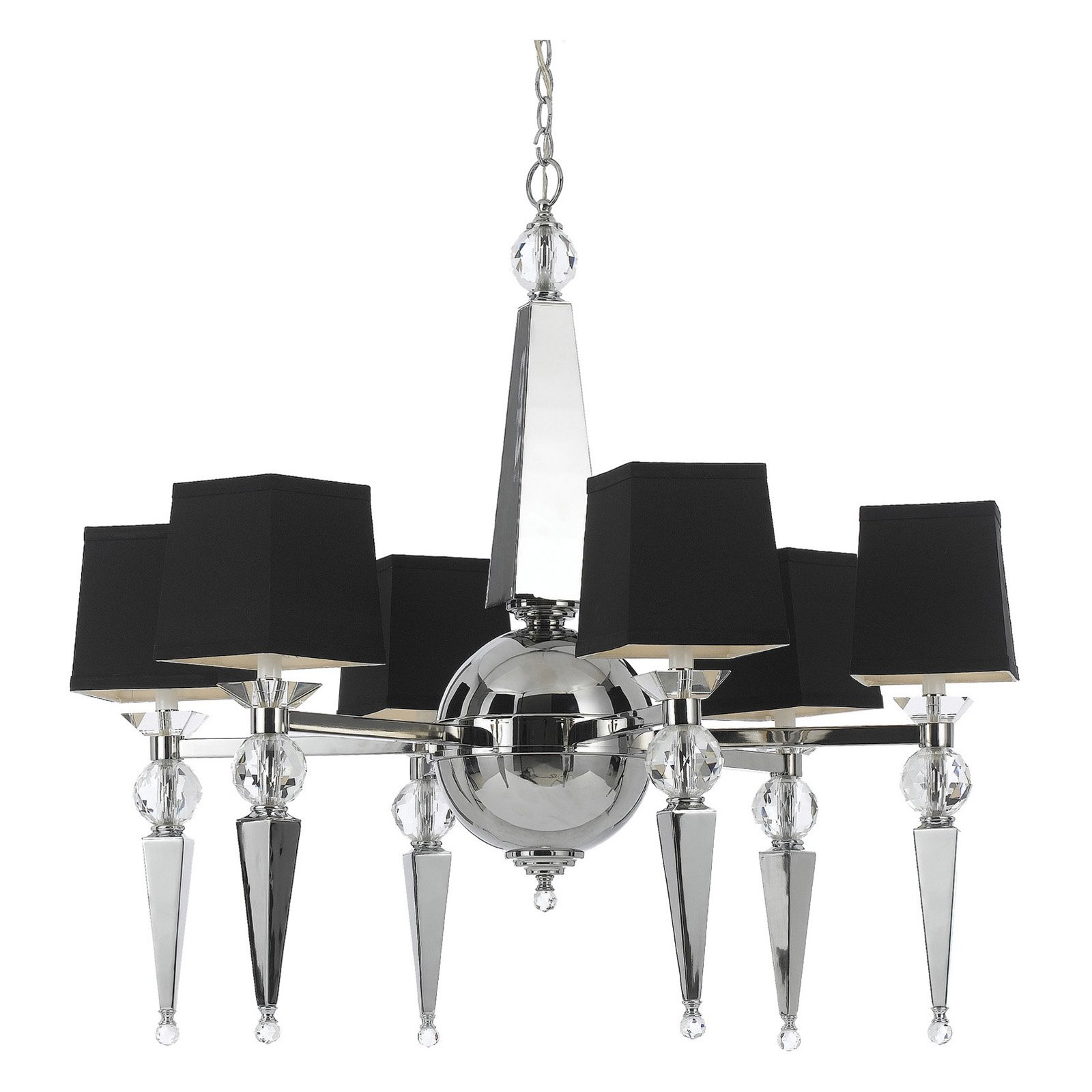 AF Lighting 8405 Six-Light Chandelier