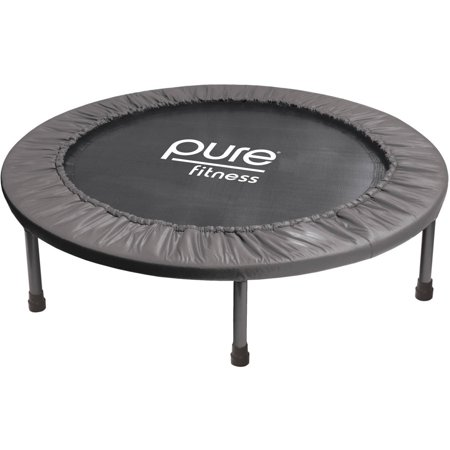 Pure Fitness 38-Inch Exercise Trampoline, Black