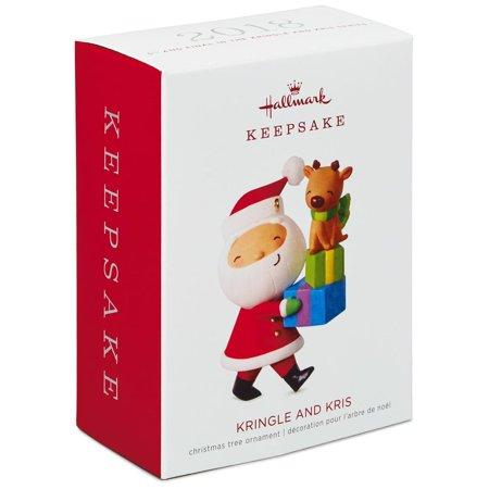 Hallmark Keepsake 2018 Kringle and Kris Delivering Gifts Ornament