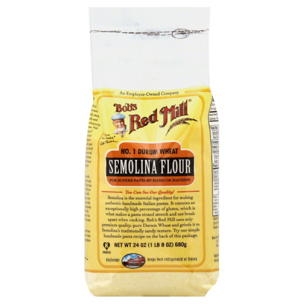 Bobs Red Mill Flour, Semolina by Bob'S Red Mill