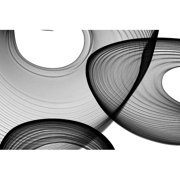 Marmont Hill Abstract Black And White 21-46-51 Irena Orlov Print On Canvas