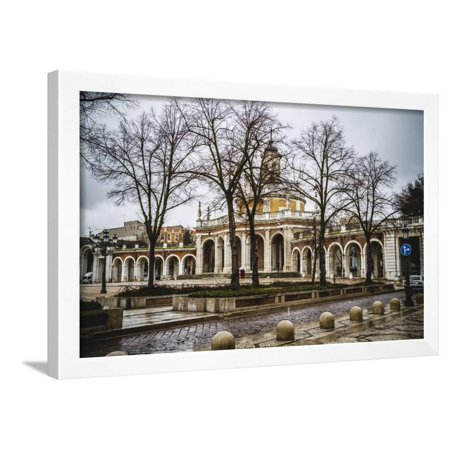 Church of San Antonio. Palace of Aranjuez, Madrid, Spain.World Heritage Site by UNESCO in 2001 Framed Print Wall Art By outsiderzone ()