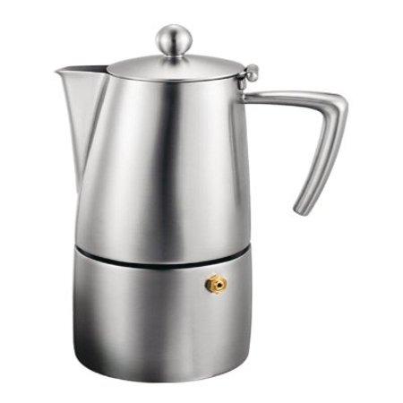 Cuisinox COF-M10 Milano 10-Cup Espresso Coffeemaker