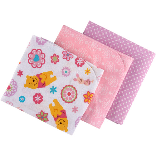 Disney - Baby Bedding Pooh Sweet as Hunny Flannel Blanket, 3pc