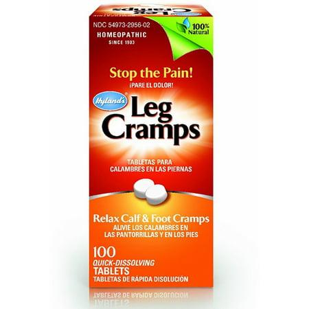 Hyland's Leg Cramps Quick-Dissolving Tablets 100 ea