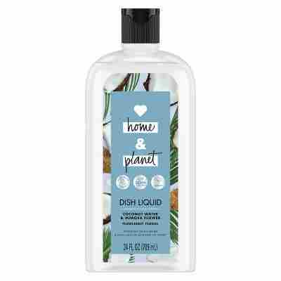 Love Home Planet Coconut Water Mimosa Flower Dish Liquid - 24 fl oz