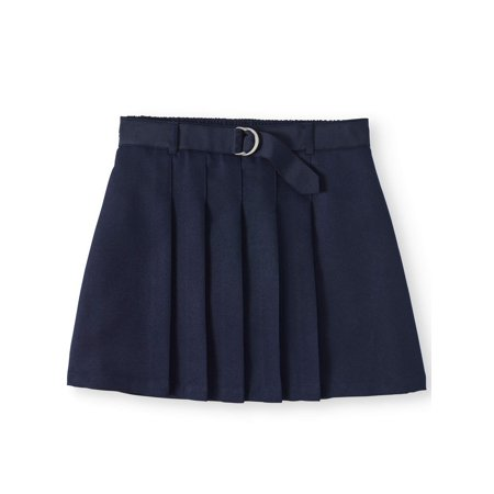 Girls School Uniform Pleated Belted (Belted Classic Skirt)
