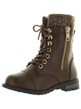 7562a363dbd9 Girls Combat Boots - Walmart.com