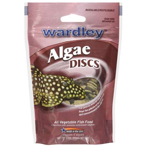 Wardley: Algae Discs All Vegetable Fish Food, 3 Oz
