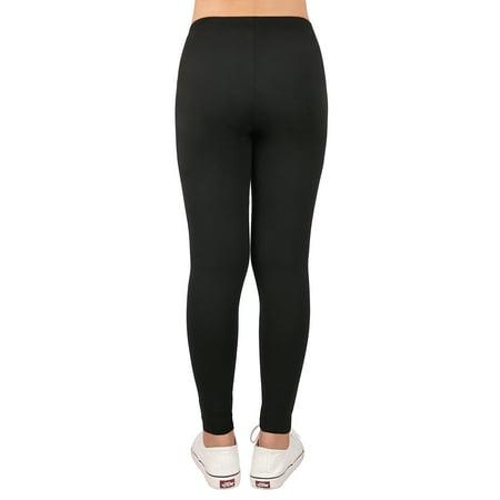 HDE Girl's Ultra Soft Leggings With Print Designs Full Ankle Length Comfy Pants - image 4 de 6