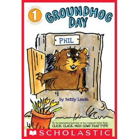 Scholastic Reader Level 1: Groundhog Day - - Groundhog Day Craft