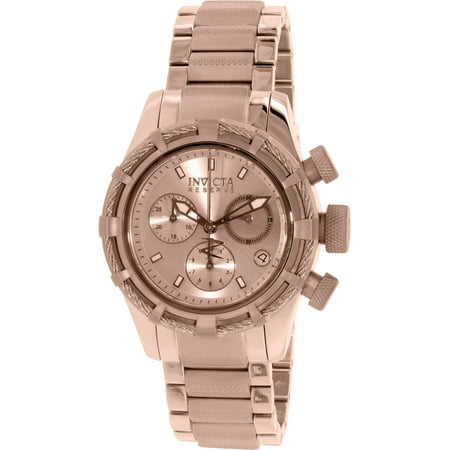 12460 Women's Bolt Reserve Rose Gold Dial Rose Gold Steel Chronograph Dive Watch ()