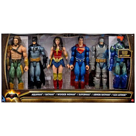 Aquaman, Batman, Wonder Woman, Superman, Armor Batman & Lex Luthor Action Figure - Batman Action Figure