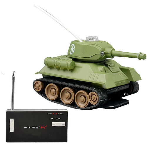 Hype Mini Remote-Controlled Battle Tank