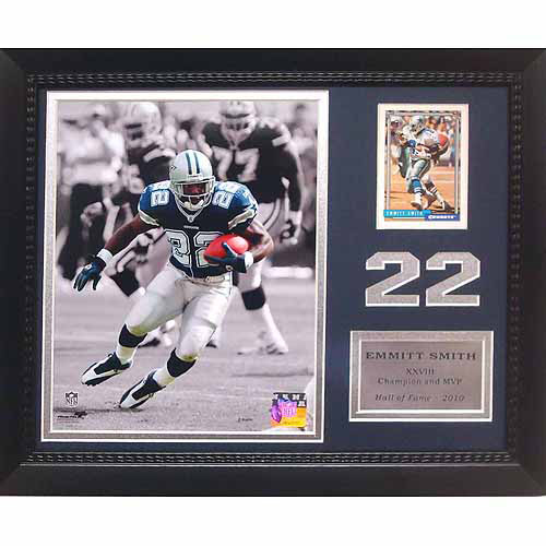 "NFL Emmitt Smith Dallas Cowboys 11"" x 14"" Card Frame"
