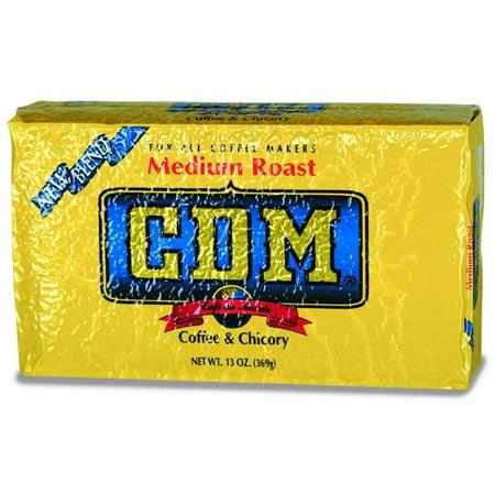 Western 13 Coffee (CDM Medium Roast Coffee and Chicory Bag, 13)
