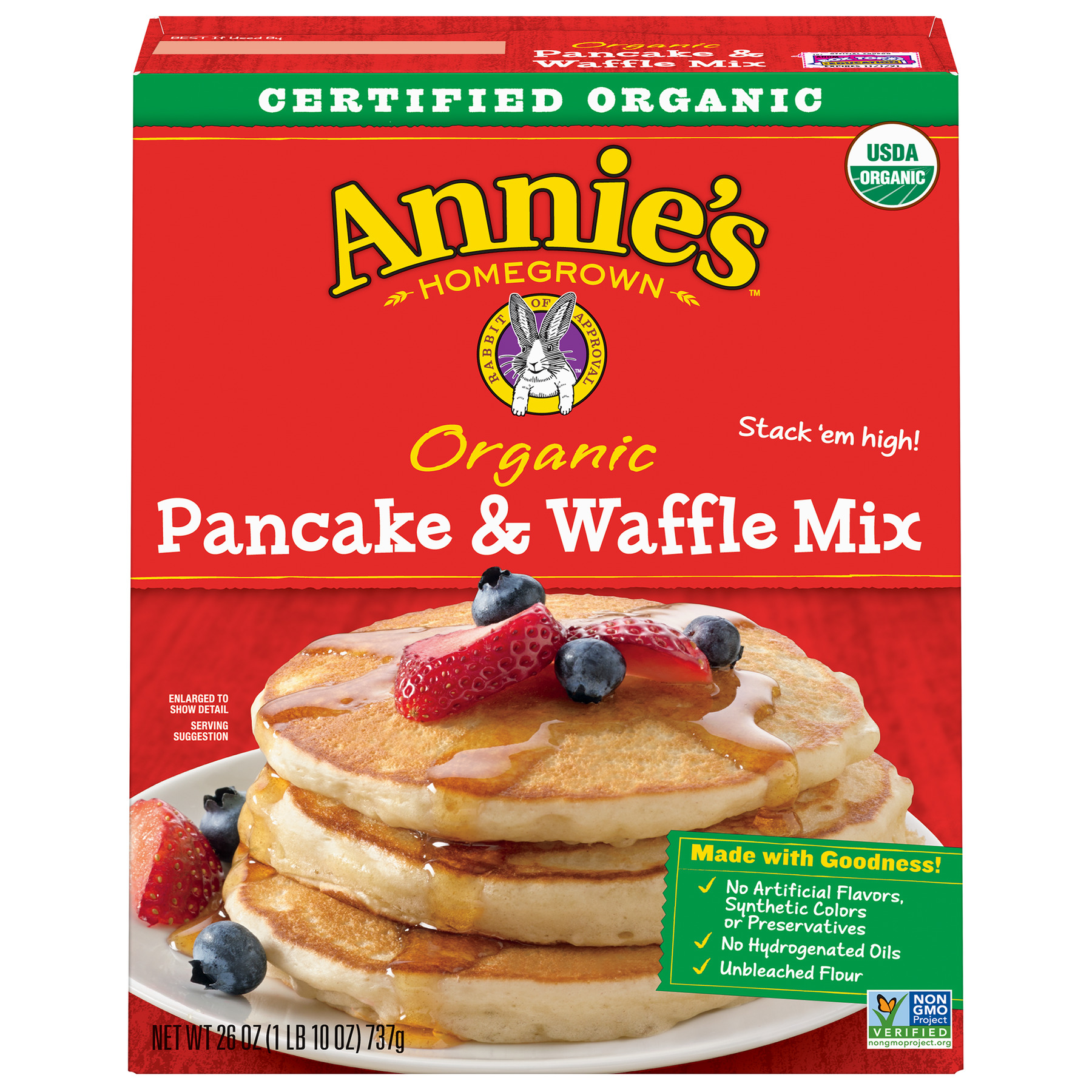 Annie's Organic Pancake & Waffle Mix by General Mills, Inc.