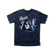The Police English Rock Band Music Group Reggatta De Blanc Adult T-Shirt Tee