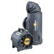 RAMFAN EF7025 Conf.Sp. Fan, Ax. Ex-Prf,8 In,1/3HP,115V