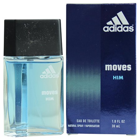Adidas Moves for Him Eau de Toilette Spray for Men, 1 fl oz (Adidas Sonnenbrille Radfahren)