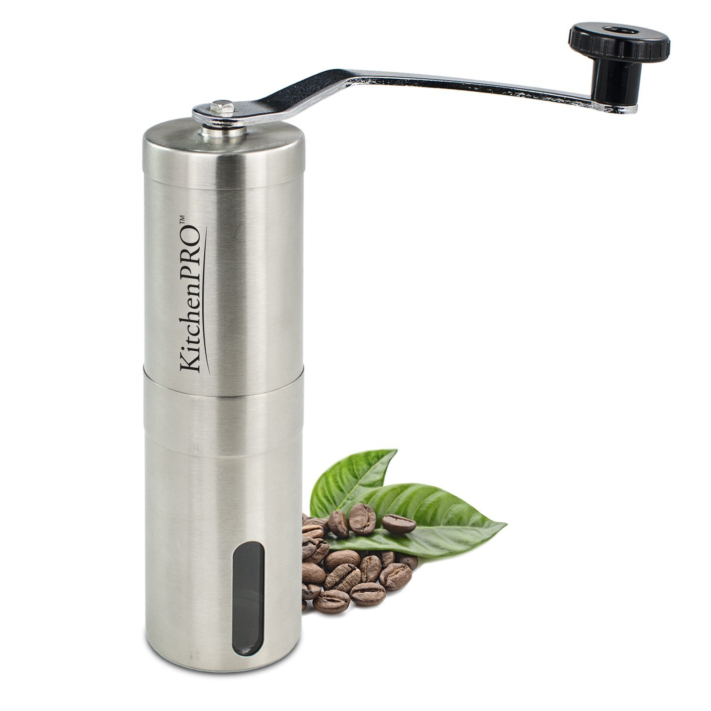 KitchenPRO Manual PREMIUM STAINLESS Coffee Grinder with ...