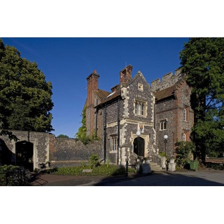 Traditional Canterbury Collection (Traditional Building, Historic Centre Canterbury, Kent, United Kingdom Print Wall)