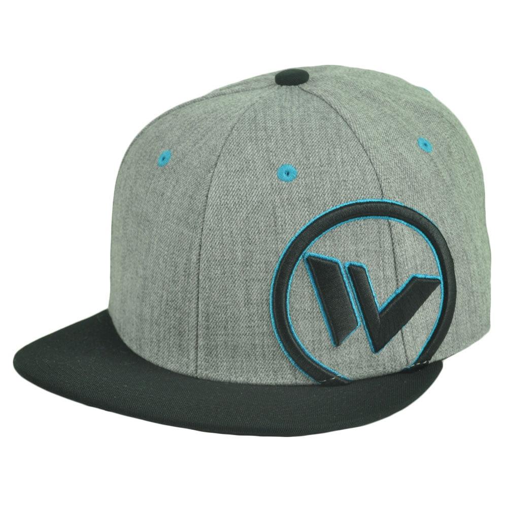 83efe463135 Shaun White Snow Boarder Skater Snapback Flat Bill Hat Cap Athlete Grey  Adjustab - Walmart.com