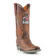 Handmade College Football Basketball NFL Game Tailgater UOH Brown Boots 9.5