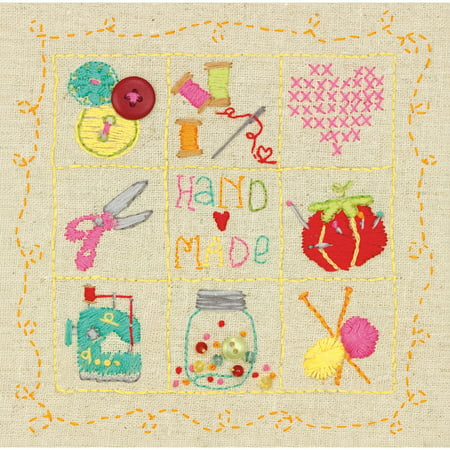 Dimensions 74053 Handmade Sampler Amy Powers Embroidery Stitch Kit