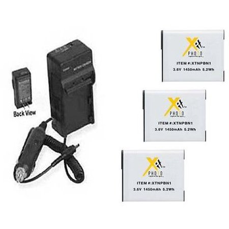 THREE 3X NP-BN1 Batteries + Charger for Sony WX100, Sony WX150, Sony WX200, Sony WX60, Sony WX70, Sony WX80 THREE 3X NP-BN1 Batteries + Charger for Sony WX100, Sony WX150, Sony WX200, Sony WX60, Sony WX70, Sony WX80