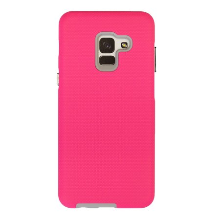 detailing 4d892 138ae XQISIT Samsung Galaxy A8 (2018) Pink Armet Protective case - 32224