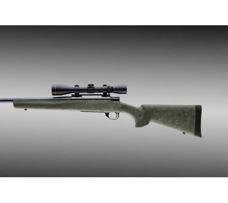 Hogue Howa 1500 Weatherby L.A. Heavy Varmint Barrel Full Bed Blk. Ghillie Green by