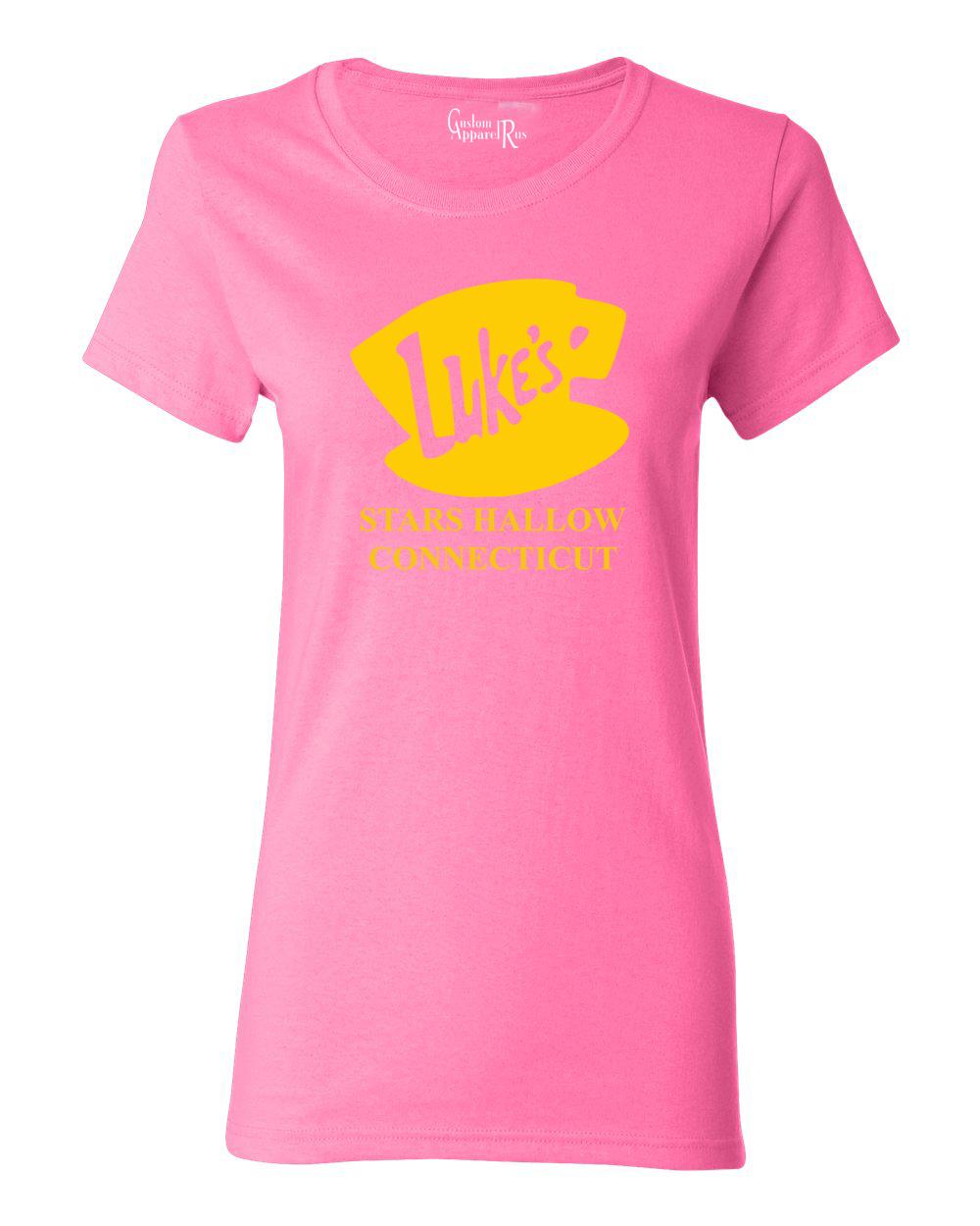 Luke's Diner Stars Hollow CT Gilmore Girls Womens T-Shirt Top