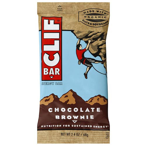 Clif Bar Chocolate Brownie Energy Bars, 2.4 oz (Pack of 12)