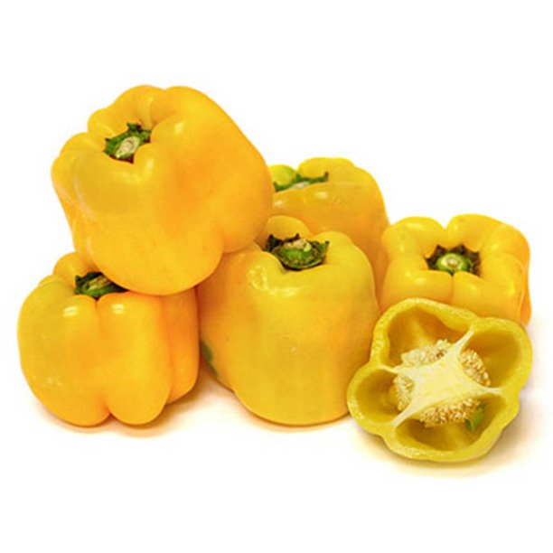 Sunbright Sweet Pepper Garden Seeds 25 Oz Non Gmo Large Yellow Bell Pepper Seed Vegetable Gardening Seed By Mountain Valley Seed Co Walmart Com Walmart Com