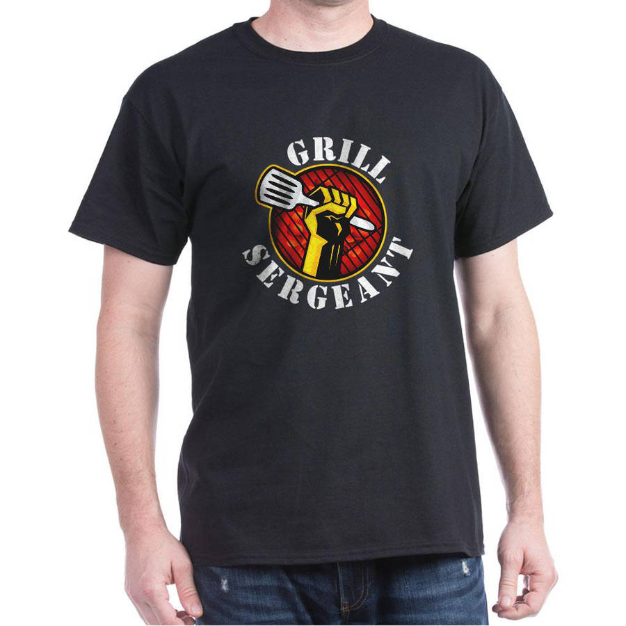 CafePress Big Men's Grill Sergeant  T-Shirt